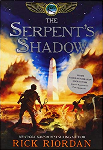 Rick Riordan – The Serpent's Shadow Audiobook