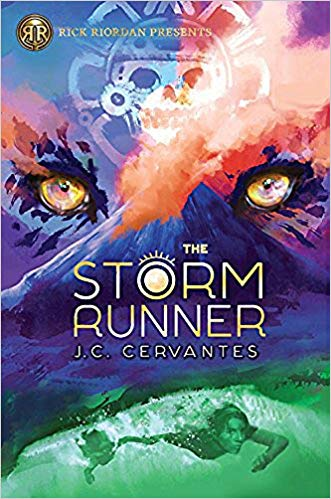 J.C. Cervantes – The Storm Runner Audiobook