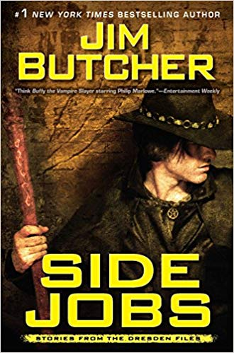 Jim Butcher – Side Jobs Audiobook